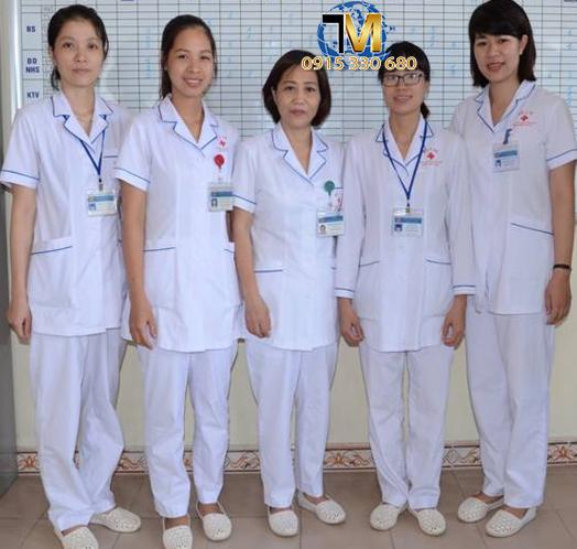 Xưởng may đồng phục y tế tại tân bình