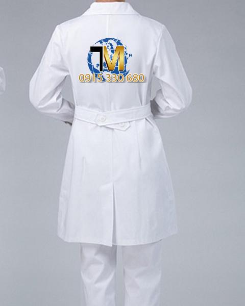 may áo bác sĩ